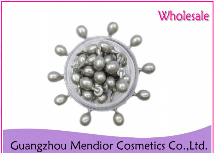 Silver Ceramide Face Capsules With Hyaluronic Acid Collagen For Glowing Skin